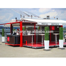 professional container house/steel structure building/folding container home