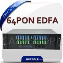 Red Tri-Play 64 Pon EDFA / 1550nm Fiber Optical Booster