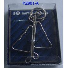 Juegos de puzzle de metal 3d iq