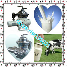 High Speed 3 Phase Centrifuge SMC-Dn Disc Three-Phase Milk Fat Skimming Equipment