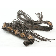 Fashion Hand made garment waxed cord braided belts-KL0052