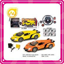 Función completa de 4CH con la luz y los juguetes plásticos de la música Juguete del coche del 1: 14 RC