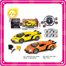 4CH Full Function avec Light & Music Plastic Toys 1: 14 RC Car Toy