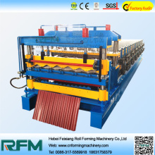 Double Layer Tile Roof Sheet Making Machine
