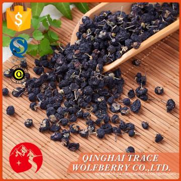 Различные высококачественные черные ягоды goji