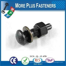 Made in Taiwan S10T Round Head High Tensile Heavy Structural Bolt