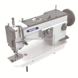 Maszyna do szycia zygzakowa z górnym i dolnym ząbkowaniem (automatyczne smarowanie i duży hak)