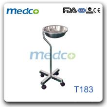 Подставка для бассейнов для мытья посуды для больниц (одиночный бассейн) T183
