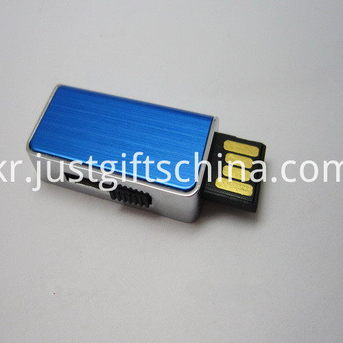 Promotional Blue Color USB Flash Drives (2)