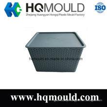 Molde de Injeção Plástica para Caixa de Armazenamento com ISO