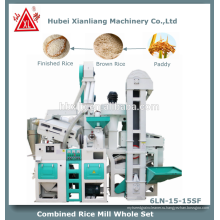 zct1000 современные автоматические мини-завод риса в Индии
