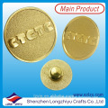 Custom Metal Logo Gold Pin Badge Buttons