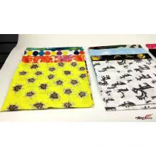 Fashion accessories multifunctional custom logo seamless sport solid color bandana