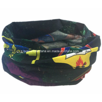 OEM Produce Cheap Logo Printed Snowboard Sports Multifunctional Seamless Bandana Scarf