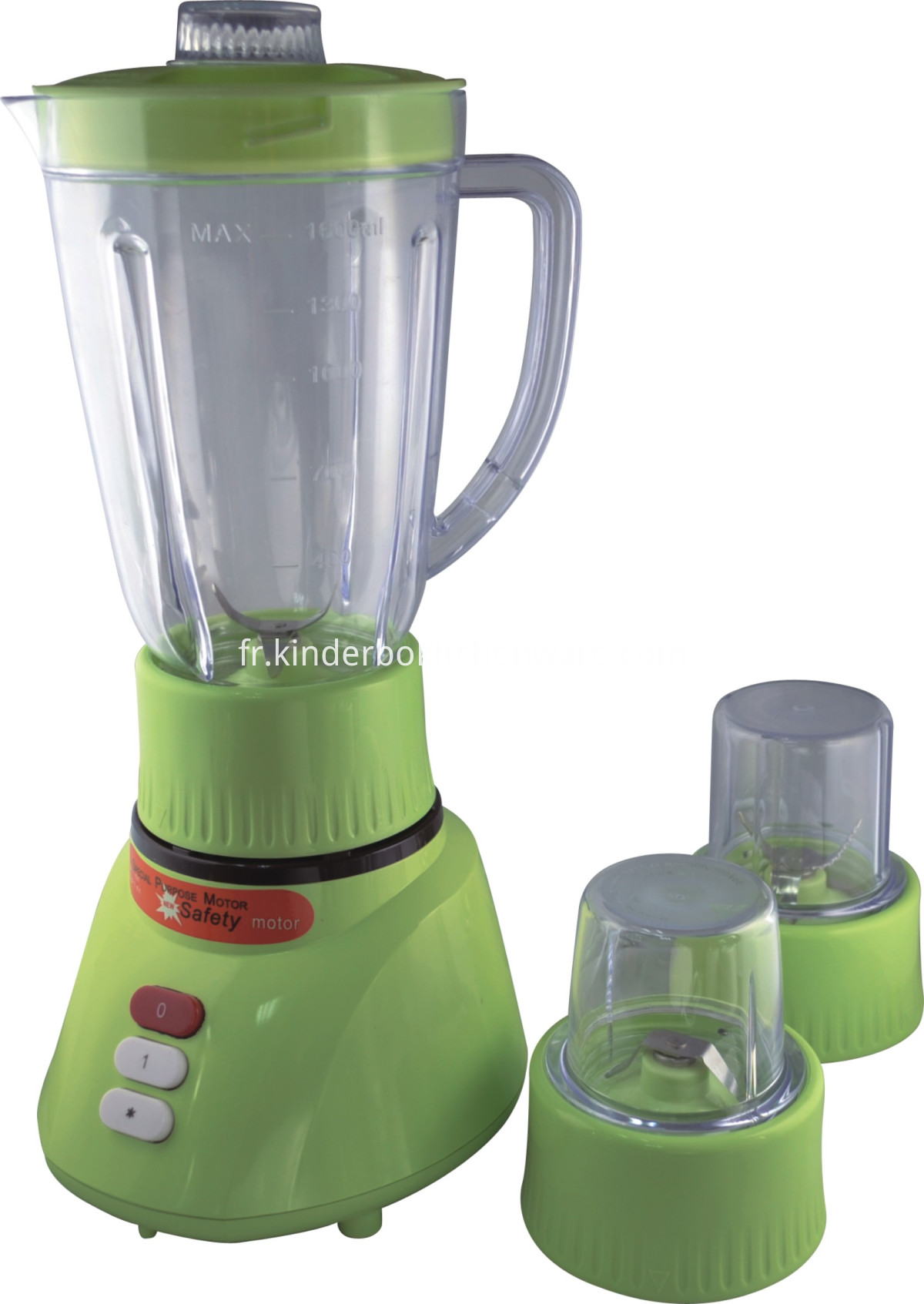 1.6L 3 in 1 blender (green)