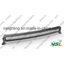 30 pulgadas 180W curvado LED luz barra Combo 4WD barco Ute LED carro luz ATV LED lámpara para coche