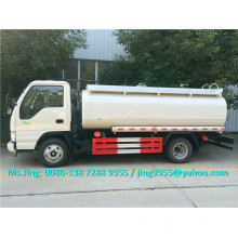 Euro IV Price of JAC new oil tanker,mini oil tanker truck capacity 6000L on sale