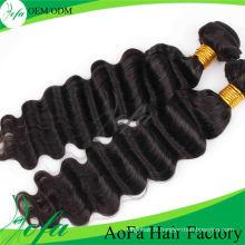 Trame de cheveux Remy de cheveux vierges de catégorie de cheveux de la catégorie 7A