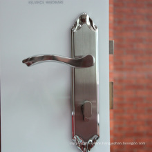 Designers Wanted Contemporary Style Stainless Steel Door Lever Handle Entry Lockset