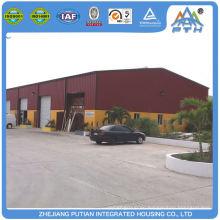 Günstige wirtschaftliche Sicherheit Stahlkonstruktion vorgefertigte Garage