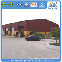 Cheap economic security steel structure prefab garage