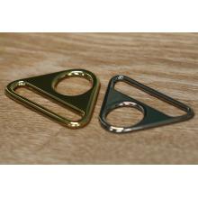 Matériau en alliage de zinc anneau de forme différente / mousqueton en métal