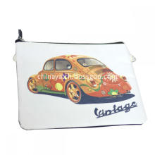 Durable Cosmetic Bag Handle Bag with Printing