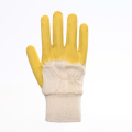 Non-slip Cotton Latex Cleaning Work Protective Gloves