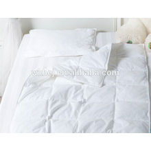 cotton percale 300TC white baby crib comforter