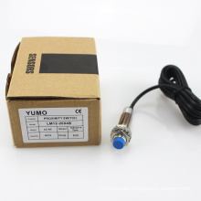 Yumo Ce Approved M12 Sensing 4mm Nc Inductive Proximity Switch