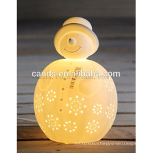 Chinese Snowman Design Kids Table Lamp