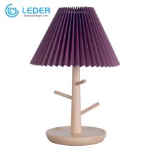 LEDER Best Wooden Table Lamp