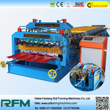 FX metal galvanized double layer roof sheet rolling forming machine