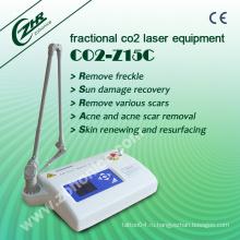 Дробное CO2 лазерное оборудование для красоты для лечения акне (Z15C)