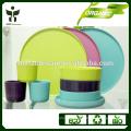 Экологически чистые органические функции натурального растительного волокна типа посуда набор