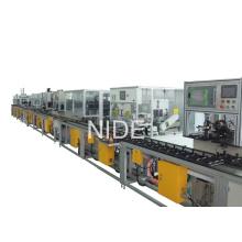 Línea de montaje de fabricación de rotores de alta automatización