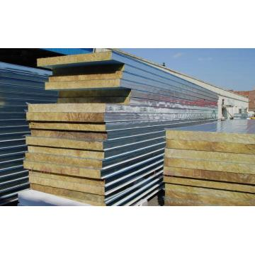 Rock Wool EPS Sandwich Panel Membuat Mesin