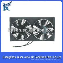 Piezas de motor de alta calidad doble cubierta del ventilador del motor del ventilador