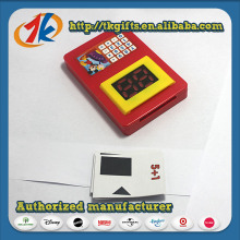 Hot Sell 2017 New Products Plastic Calculator/Learn Machine
