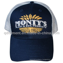 Custom Embroidery Cotton Twill Sport Trucker Mesh Cap (TMT9473-1)