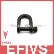 Nouvelle boucle de fermeture latérale en métal pour bracelet paracord