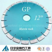 """GP 12 """"* 20 mm tecnología sofisticada disco diamantado"""