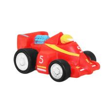 Красный автомобиль для малышей, сделайте вашу собственную игрушку винила, игрушку винила профессионала профессионала