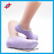Lustres à coupe basse en été de couleur unie en coton minces chaussettes invisibles à bouche peu profonde