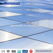La venta caliente aisló el precio del panel compuesto de aluminio del alucobond del revestimiento de NANO