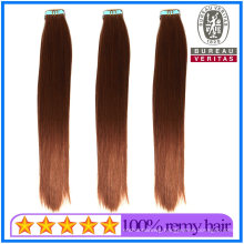100% Brazilian Human Hair Virgin Hair Remy Hair Omber Color 20inch Tape Hair Extensions Top Quality Hair