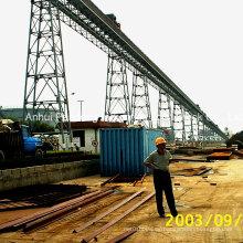 Aplicación del Transportador de Cinturón con Cinturón Cema / DIN / ASTM / Sha en Metalurgia / Minería / Puerto / Central eléctrica