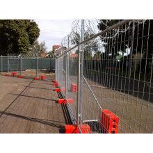 No Dig Temporay Zaun mit hoher Qualität (ISO9001 und SGS)