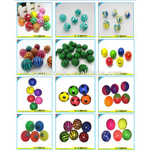 Novelty Design Promotion High Rubber Bouncing Ball Toy for Chritsmas Gift