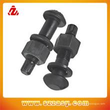 Chinesische Hersteller von Schrauben aus rostfreiem Stahl oder Kohlenstoffstahl können individuell angepasst werden